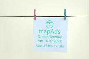 mapAds Online seminar